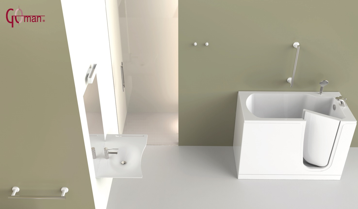 Goman - Bath Tubs w/ Doors